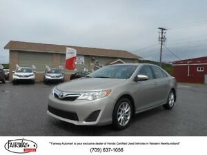 2013 Toyota CAMRY LE WITH SUNROOF