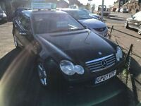 MERCEDES-BENZ C CLASS 1.8 C180 KOMPRESSOR SE SPORTS 3d AUTO 141 BHP (black) 2007