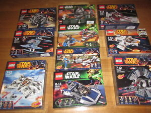 LEGO STAR WARS VEICHLES PACKS various available NEW NUOVO sealed
