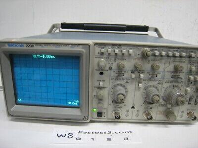 Tektronix 2230 100mhz Two Channel Analogdigital Storage Oscilloscope