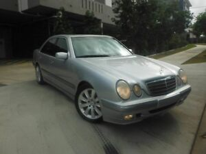 2001 Mercedes-Benz E200 Kompressor W210 Elegance Silver 5 Speed Automatic Sedan Kedron Brisbane North East Preview
