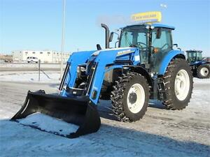 New Holland TS6.140 Plus - 115 PTO HP, Loader, Economy Model!