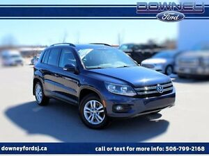 2014 Volkswagen Tiguan TRENDLINE AWD HEATED SEATS EXTREMELY RARE
