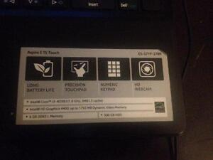 """Acer Aspire 15"""" touch screen"""