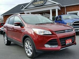 2014 Ford Escape Titanium FWD ecoboost, NAV, Leather Heated Seat