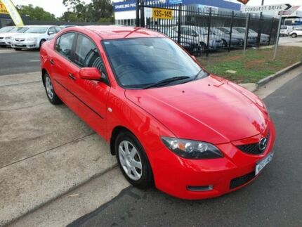2008 Mazda 3 BK MY06 Upgrade Maxx Red 5 Speed Manual Sedan Werribee Wyndham Area Preview