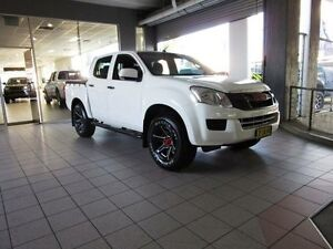 2014 Isuzu D-MAX TF MY15 SX HI-Ride (4x2) Splash White 5 Speed Automatic Crew Cab Utility Thornleigh Hornsby Area Preview