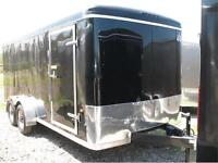 2015 US Cargo 7X16 Enclosed Trailer with rear ramp