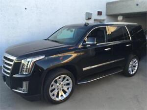 NEW 2017 Cadillac Escalade black on black NEW