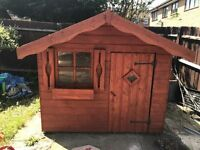 Childrens 6x6 wooden play house