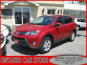 2013 Toyota RAV4 XLE SUNROOF !!!NO ACCIDENTS!!!
