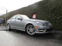 2012 Mercedes-Benz C-Class C300 4MATIC, LEATHER, SUNROOF, NO EXT