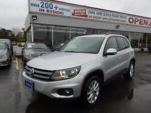 2014 Volkswagen Tiguan Highline 1-OWNER NO ACCIDENTS ONTARIO CAR