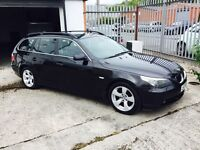 BMW 5 SERIES 2.5 525D SE TOURING 5DR Manual (black) 2005