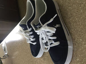 Navy Blue Ralph Lauren shoes