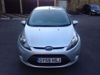 Ford Fiesta 2009 1.2 MK6 Style 5 Door. 1 Year MOT. 1 Owner from new 2 Keys