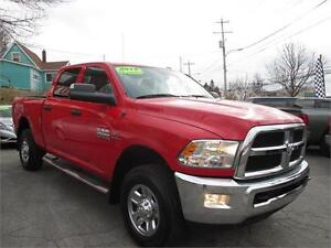 2015 Ram 2500 4x4, 6.7L Cummins Turbo Diesel, Crew Cab, 1-Owner