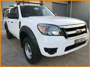 2010 Ford Ranger PK XL HI-Rider (4x2) White 5 Speed Manual Dual Cab Pick-up Blacktown Blacktown Area Preview
