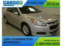 2014 Chevrolet Malibu 1LT, NO ACCIDENTS, REMOTE START $97.55B/W*