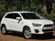 2013 Mitsubishi ASX XB MY13 Aspire 2WD White 6 Speed Constant Variable Wagon Reynella Morphett Vale Area Preview