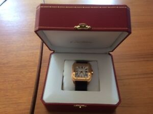Cartier Santos 100 18kt Rose Gold