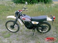******1980-83 XT250 EXHAUST WANTED*******