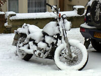 MOTORCYCLE STORAGE AND WINTERIZING