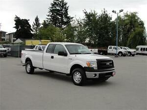 2013 FORD F-150 XL EXT CAB LONG BOX 4X4 ECOBOOST V6
