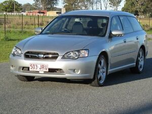 2006 Subaru Liberty B4 MY06 2.0R D/Range AWD Silver 5 Speed Manual Wagon Stapylton Gold Coast North Preview