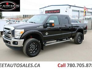 2014 Ford F-350 Fully Loaded Lariat 4x4 Lifted Diesel