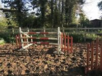 HORSE JUMPS FOR SALE X 3 SETS