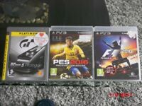 Playstation 3 Games ( see below )