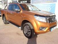 Nissan NP300 Navara 2.3dCi Double Cab 4WD Pickup auto Tekna Delivery Miles Only