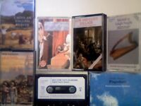 RARE FOLK, INSTRUMENTAL & SPECIALIST WORKS BY CITY WAITES, WILD THYME+++ PRERECORDED CASSETTE TAPES.