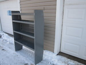 Shelving, for a van, trailer or truck