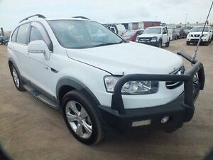 2012 Holden Captiva CG Series II 7 CX (4x4) White 6 Speed Automatic Wagon Bohle Townsville City Preview