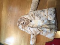 Girls padded winter coat