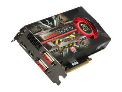 Carte graphique xfx ati radeon hd 5770 - 1 go - dvi / hdmi / dp - 5
