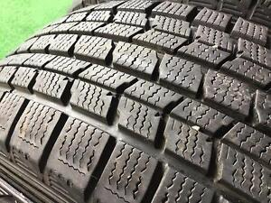 215-70-15 dunlop graspic ds-3 Used 4 Winter Snow Tires 85%tread Free install and balance