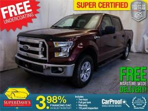 2015 Ford F-150 XL 4X4 *Warranty* $208.73 Bi-Weekly OAC