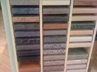 LARGE SELECTION OF LAMINATE AND CORIAN KITCHEN WORKTOPS