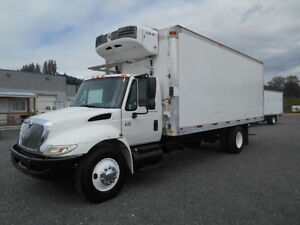 2007 International Reefer Van 22' Box B253-1