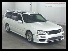 2000 Nissan Stagea Turbo White Pearl Automatic Huntingdale Monash Area Preview