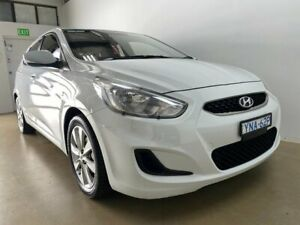 2018 Hyundai Accent RB6 MY18 Sport White 6 Speed Automatic Hatchback Phillip Woden Valley Preview