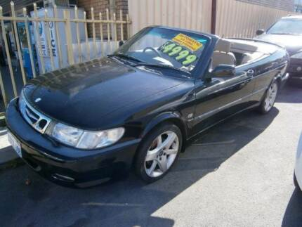2003 Saab 9-3 Convertible***FREE 12 MONTHS WARRANTY*** Bayswater Bayswater Area Preview