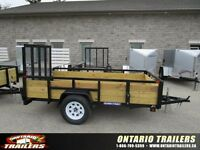 2015 Sure-Trac 5 X 10 FT 3-Board High Side Tube Top