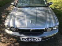 AUTOMATIC X TYPE JAGUAR VERY GOOD CONDITION DRIVES QUITE AND SMOOTH MOT TILL FEBRUARY 2019 2 KEYS