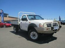 2003 Nissan Navara D22 DX (4x4) White 5 Speed Manual 4x4 Cab Chassis Hillman Rockingham Area Preview