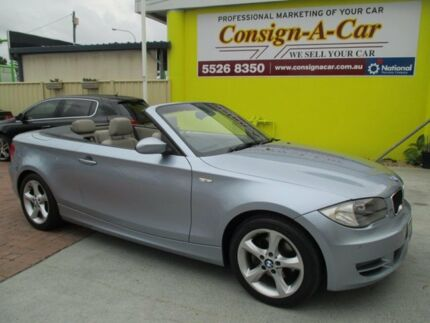2009 BMW 120i E88 MY09 Blue 6 Speed Automatic Convertible