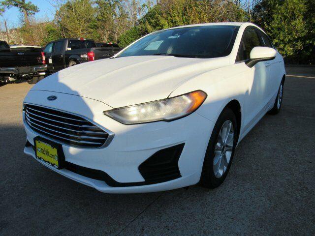2020 Ford Fusion SE 1390 Miles Oxford White 4dr Car Intercooled Turbo Regular Un